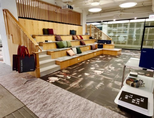 Tarkett NeoCon ShowroomChicago, IL VIEW PROJECT >